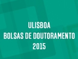 BOLSAS DE DOUTORAMENTO DA ULISBOA